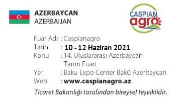 Caspianagro 10-12 June 2021