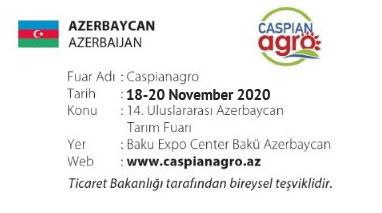 Caspianagro 18-20 November 2020
