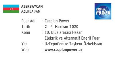 Caspian Power 2-4 June 2020