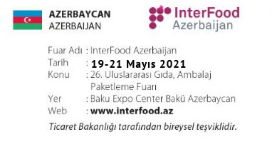 InterFood AzerBaijan 19-21 May 2021