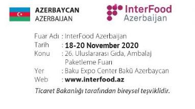 InterFood AzerBaijan 18-20 November 2020