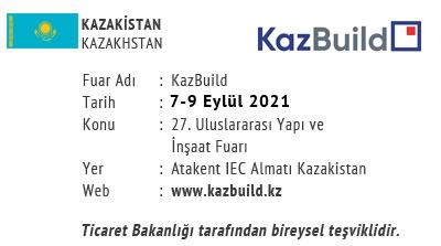 KazBuild 7-9 September 2021