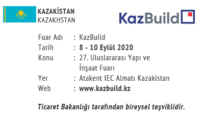 KazBuild 8-10 September 2020