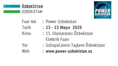 Power Uzbekistan 13-15 May 2020