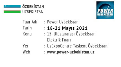 Power Uzbekistan 18-21 May 2021