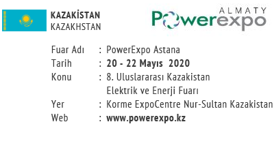PowerExpo Astana 20-22 May 2020