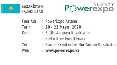 PowerExpo Astana 20-22 May 2020