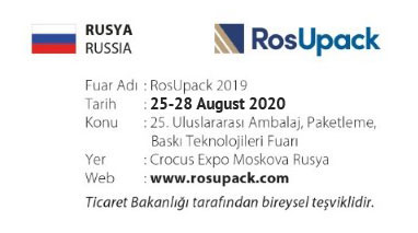 RosUpack 25-28 August 2020