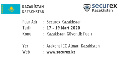 Securex Kazakhstan 17-19 March 2020
