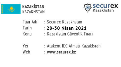 Securex Kazakhstan 28-30 April 2021