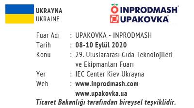 Upakovka & Inprodmash 08-10 September 2020