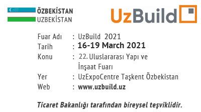 UzBuild 16-19 March 2021