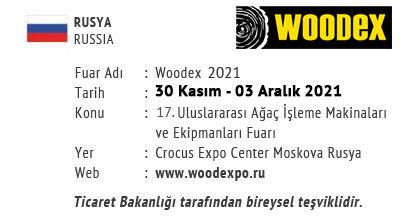 Woodex 30 November -03 December 2021